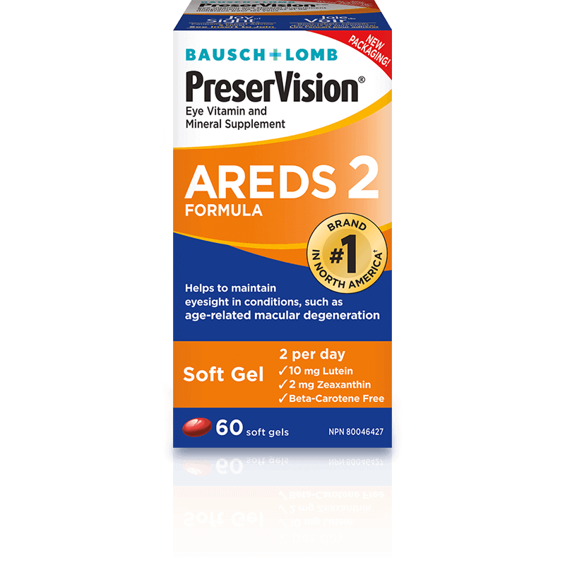 PreserVision® Eye Vitamin and Mineral Supplement AREDS 2 Formula