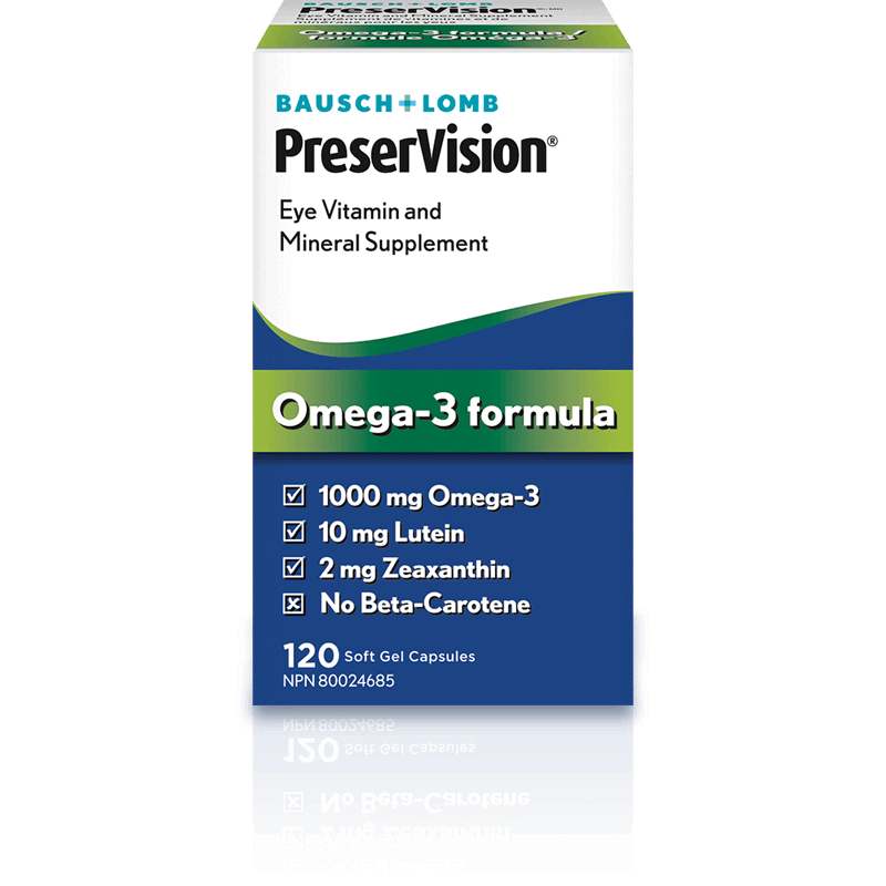 PreserVision   Eye Vitamin and Mineral Supplement Omega-3 Formula