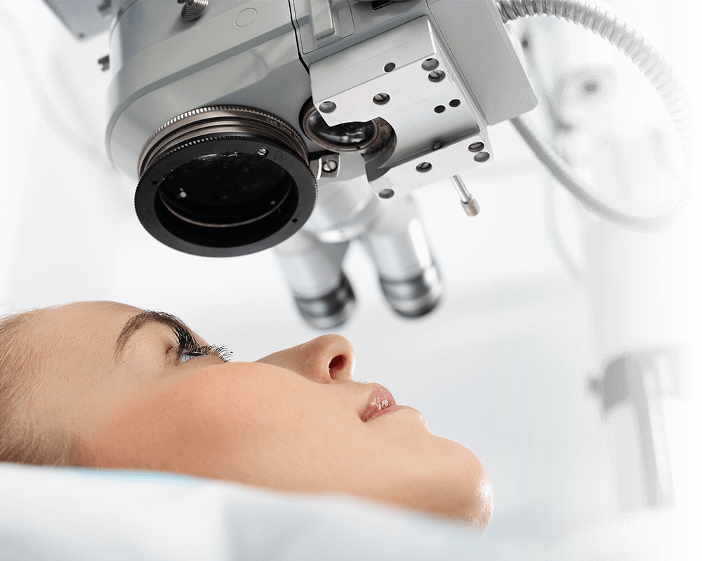 cataract and vitreoretinal surgery