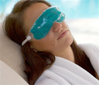Women Wearing THERA°PEARL Eye Mask