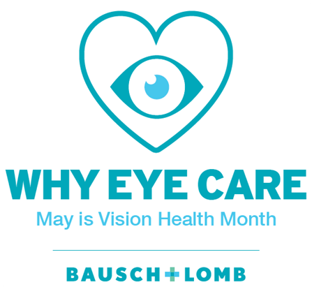 Bausch + Lomb Canada launches #WhyEyeCare May Vision Health Month campaign in partnership with Fighting Blindness Canada